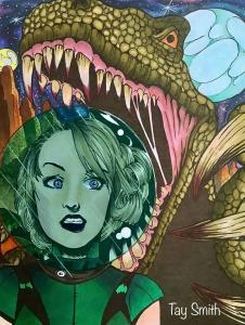 Damsels and Dinosaurs3 by Tay Wilson-Smith