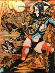 Damsels and Dinosaurs by Coranne Quinlan Hodgkinson