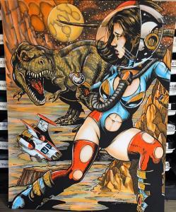 Damsels and Dinosaurs by Maya Isaksson