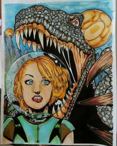 Damsels and Dinosaurs by Ninon Truax