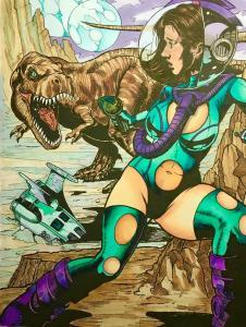 Damsels and Dinosaurs by Tay Wilson-Smith