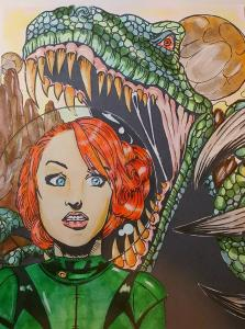 Damsels and Dinosaurs by Wendy Roberson Smith