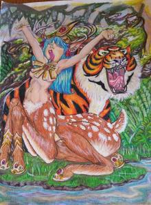 Mythical Maidens2 by Debbi S Bailey